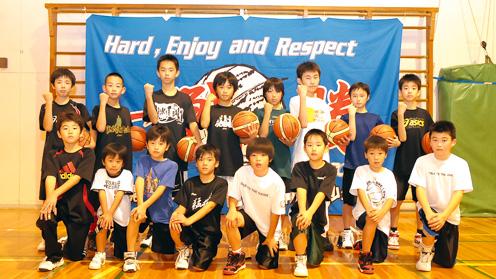 札幌月寒ミニバスケットボール少年団 今回夢をさけんでくれたのは<札幌月寒ミニバスケットボール少年
